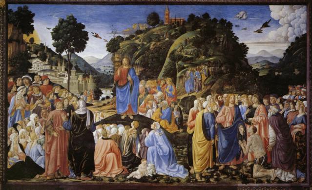 Cosimo Roselli - Sermón de la montaña