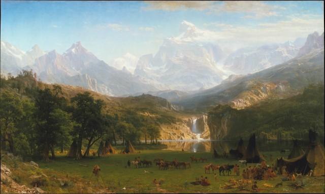 Albert Bierstadt The Rocky Mountains