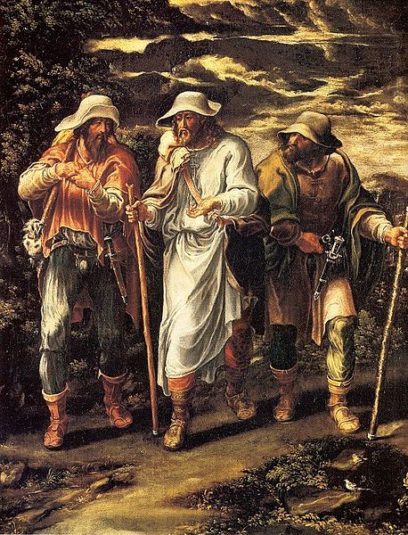 Lelio Orsi - Camino de Emaús
