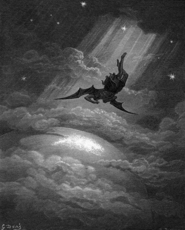 Gustavo Dore - El Angel Caído