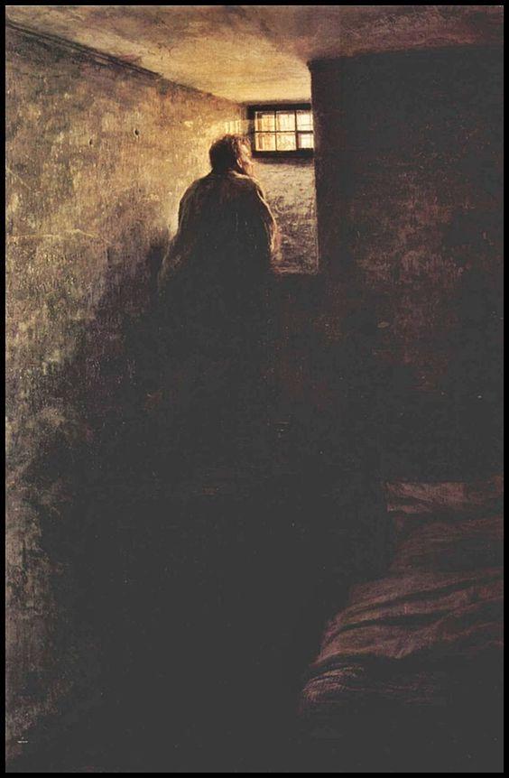 Nikolai Yaroshenko - el prisionero - 1878