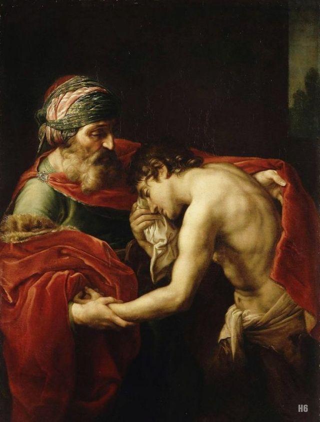 Pompeo Batoni - El regreso del hijo prodigo -